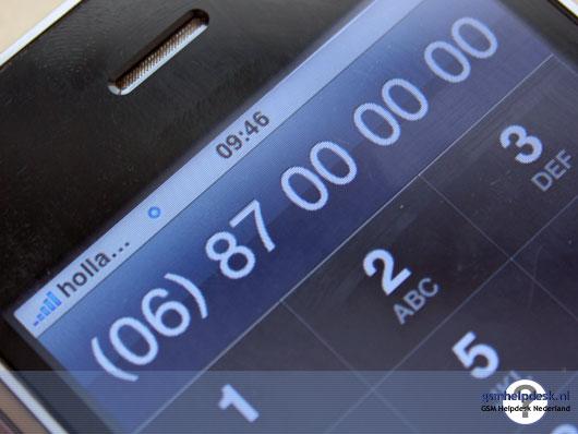 Mobiele telefoonnummers