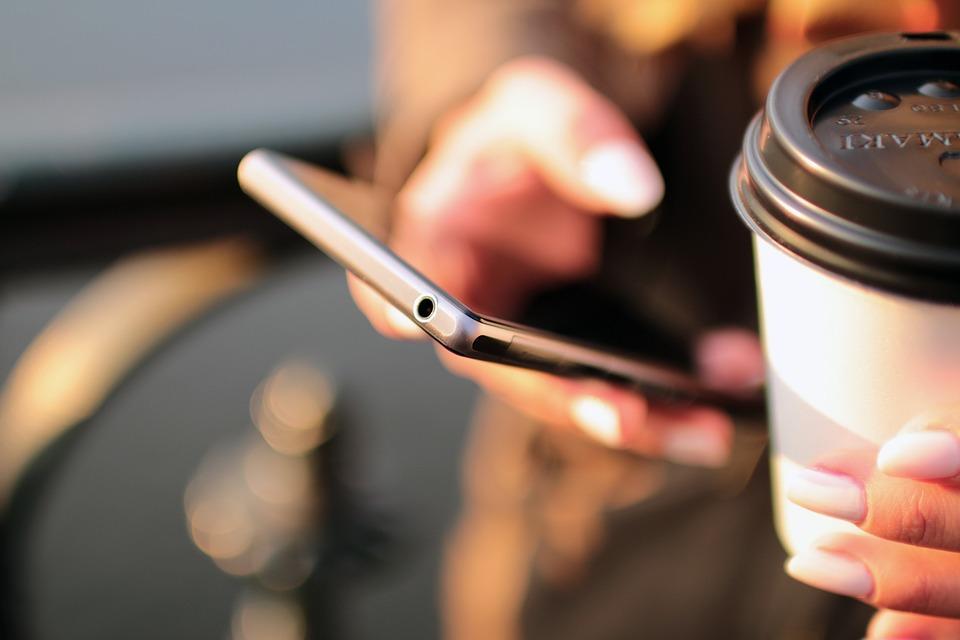 Smartphone geliefd