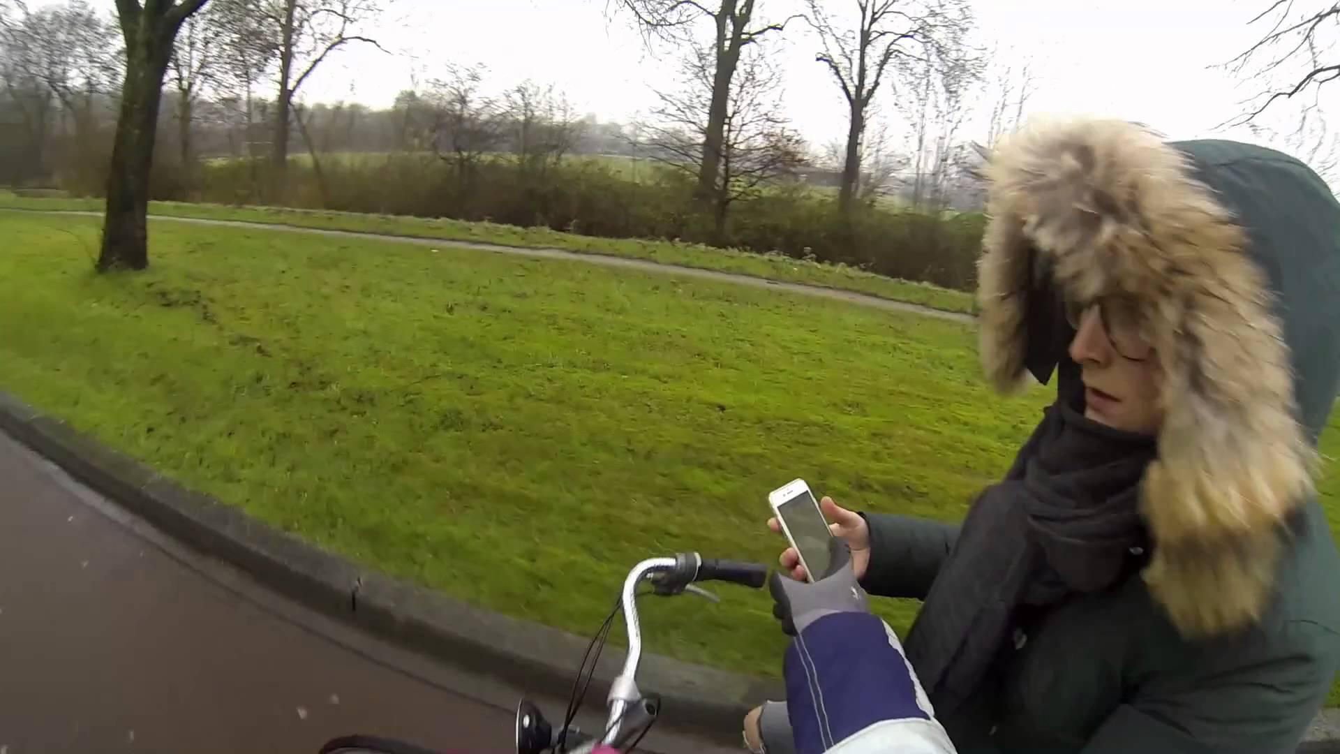 Bellen op de fiets