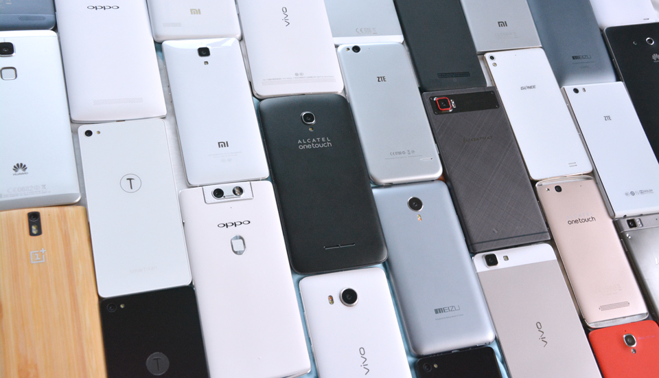 Chinese smartphonemarkt