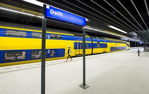 Netwerkdekking in spoortunnel Delft