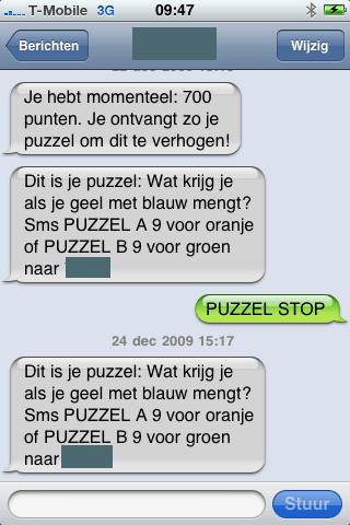 SMS-diensten