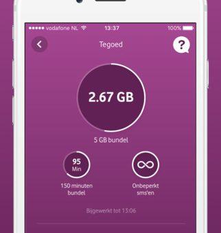 My Vodafone vernieuwd - Sim Only Vergelijken