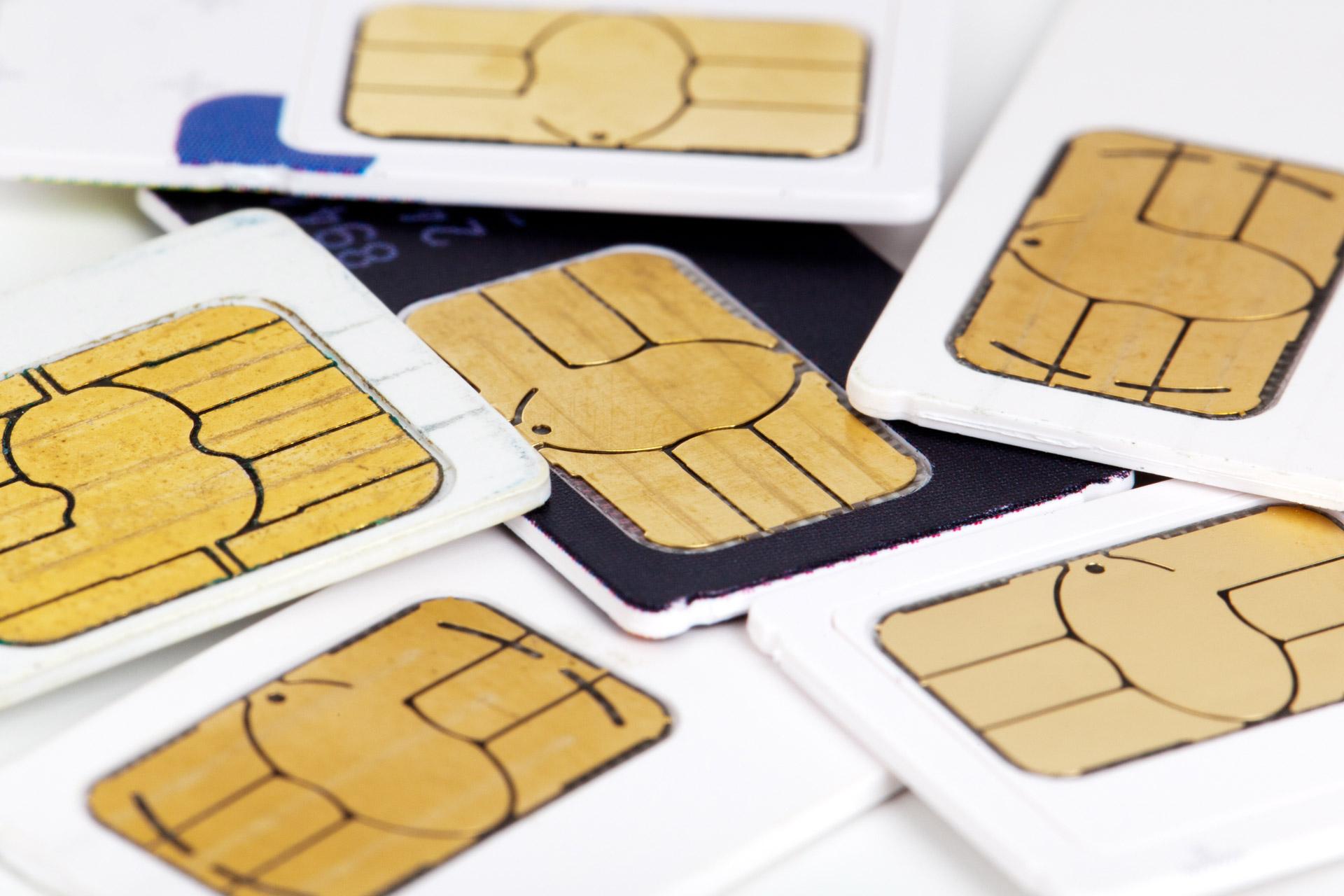 Sim card M2M