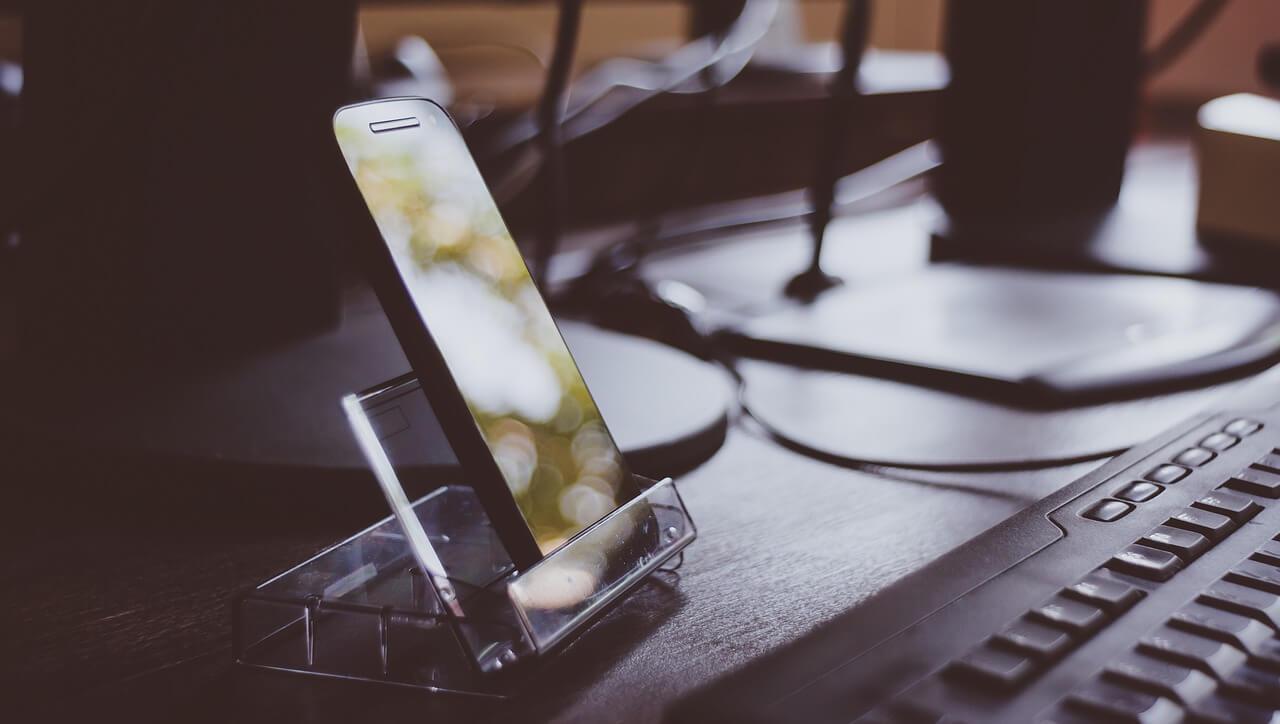 Smartphone zakelijk